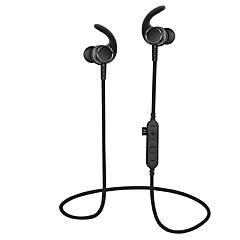 Cwxuan Sports Magnetic Bluetooth V4.2 Earphone with Microphone  TF Slot for Cell Phones