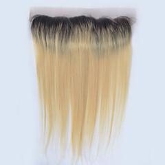 billiga Peruker och hårförlängning-Klassisk 4x13 Stängning Äkta hår Fria delen Hög kvalitet Dagligen