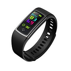 tanie Inteligentne zegarki-Inteligentne Bransoletka S9 na Android iOS Bluetooth Smart Spalonych kalorii Czujnik dotyku Rejestr ćwiczeń Śledzenie Odległość Pulsometr Krokomierz Powiadamianie o połączeniu telefonicznym / Budzik