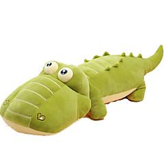 장난감을 채웠다 장난감 크로커다일 동물 동물 애니멀 조각