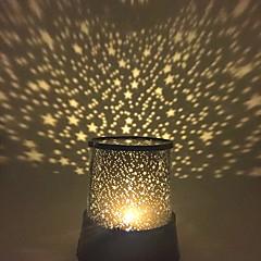 cheap Novelty & Gag Toys-Starry Night Light Star Light LED Lighting Projector Lamp Bedroom Bed Light Toys Star Galaxy Plastic Girls' Boys' 1 Pieces