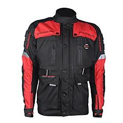 メンズオートバイの保護ジャケットモータースポーツのための冬と冬の防水とウェアラブルプロテクターギア