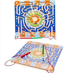 Stavební bloky Magnetický bludiště Hračky Letadlo Prázdninový Magnetický typ Cartoon Toy Nový design Pieces