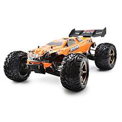 billige Fjernstyrte biler-Radiostyrt Bil 2.4G Trailer Off Road Car Høyhastighet 4WD Driftbil Vogn Monster Truck Bigfoot 1:10 Børsteløs Elektrisk 80 KM / H