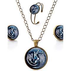 baratos Conjuntos de Bijuteria-Mulheres Conjunto de jóias - Rock, Góticas, Doce Incluir Arco-íris Para Casamento / Graduação