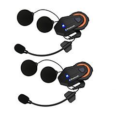 voordelige -2 stks freedconn t-max motorfiets groep talk-systeem 1500 m 6 riders bt interphone helm intercom headset fm radio bluetooth 4.1