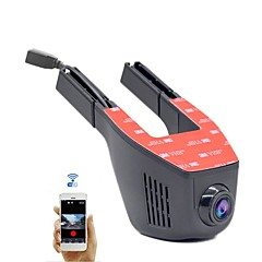 a5-d hd 1280 x 720 1080p 140度カーdvr 1248スクリーンなし(アプリ別出力)ダッシュカメラ用wifi g-センサーパーキングモードモーション