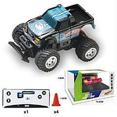 billige Fjernstyrte biler-Radiostyrt Bil 8024 Vogn Monster Truck Bigfoot Driftbil 4WD Jeep 40 KM / H Fjernkontroll Oppladbar Elektrisk