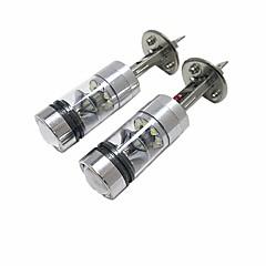 baratos Faróis para Carros-2pcs Lâmpadas 100W LED de Alto Rendimento 20 Lâmpada de Farol For Ford Focus 2014 / 2013 / 2012