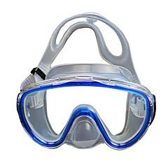 billiga Dykmasker, snorklar och simfötter-Snorkelmask / Simglasögon Barn, Ung Två Fönster - Simmning, Dykning Silikon Gummi, Härdat glas, PC - för Vuxen Gul / Blå / Rosa