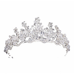 billige Hår Smykker-Dame Basale Krystal Hårbånd Klassisk Brud & Brudgom Stil