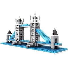 halpa -Rakennuspalikat LOZ Diamond Blocks Lelut Kuuluisa rakennus Arkkitehtuuri Arkkitehtuuri Non Toxic DIY Klassinen Lasten Aikuisten 570 Pieces
