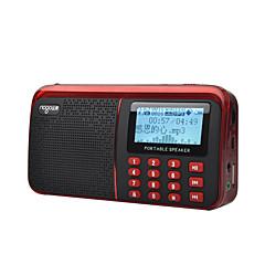 Χαμηλού Κόστους Ράδιο-NOGO R909 FM / AM Φορητό ραδιόφωνο Καταγραφή / Ξυπνητήρι / Υποστηριζόμενες Λίστες Κάρτα TF Παγκόσμιος δέκτης Λευκό / Κόκκινο / Μπλε