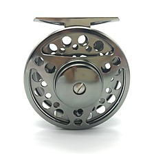 cheap Fishing Reels-Fishing Reel Ice Fishing Reels Fly Reels 1:1 Gear Ratio+2 Ball Bearings Exchangable Fly Fishing Bait Casting - FTS 75mm