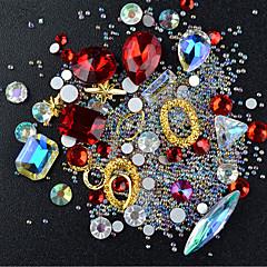 billiga Nagelvård och nagellack-Nail Smycken Strass / Mode Dagligen Nail Art Design