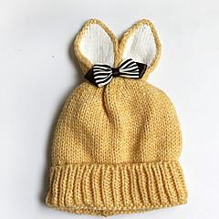 お買い得  子供用アクセサリー-女の子 帽子&キャップ, ポリエステル 春 ヘアゴム - ルビーレッド ピンク ベージュ グレー イエロー