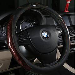 billige Rattovertrekk til bilen-bil ratt deksler (lær karbon fiber) for universal