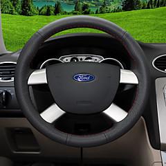 billige Rattovertrekk til bilen-bil ratt deksler (lær) for ford alle år eskorte mondeo kuga økosport kant fokus