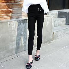 billige Bukser og leggings til piger-Børn Pige Aktiv Ensfarvet / Simpel Bomuld Bukser / Sødt