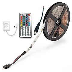 Χαμηλού Κόστους Φωτιστικά LED-ZDM® 5m Σετ Φώτων 300 LEDs 2835 SMD 1 Τηλεχειριστήριο 44Keys / 1 Καλώδιο AC RGB Μπορεί να κοπεί / Αδιάβροχη / IP65