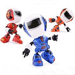 baratos -Robô Brinquedos Família Smart Luminoso Iluminação Cantando Dançando Interação pai-filho inteligente Moda ABS Crianças Adulto Dom 1pcs