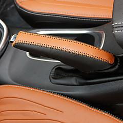 Tampa do botão de mudança de veículo automotriz (couro) para volvo todos os anos s60l s80l v40 s60 xc60