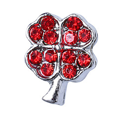 baratos Miçangas & Fabricação de Bijuterias-Jóias DIY 10 pçs Contas Strass Liga Branco Roxo Rosa pérola Vermelho Azul Claro Quadrada Bead 1.1 cm faça você mesmo Colar Pulseiras