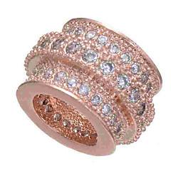baratos Miçangas & Fabricação de Bijuterias-Jóias DIY 1 pçs Contas Imitações de Diamante Liga Dourado Prata Ouro Rose Redonda Bead 0.5 cm faça você mesmo Colar Pulseiras