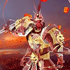 voordelige 3D-puzzels-Sun WuKong 3D-puzzels / Metalen puzzels / Modelbouwsets 1pcs Krijger / Apen koning voortreffelijk / Noviteit Jongens Geschenk