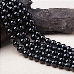baratos Miçangas & Fabricação de Bijuterias-Jóias DIY 38 pçs Contas Cristal Preto Redonda Bead 1 cm faça você mesmo Colar Pulseiras