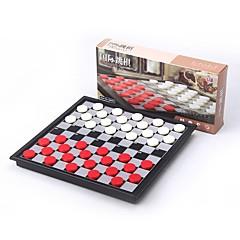 Χαμηλού Κόστους Παιχνίδια Σκάκι-Παιχνίδι σκάκι Μαγνητική Αλληλεπίδραση γονέα-παιδιού Μαλακό Πλαστικό Αγορίστικα Κοριτσίστικα Παιχνίδια Δώρο 40 pcs