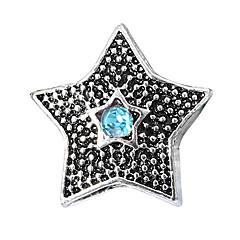 baratos Miçangas & Fabricação de Bijuterias-Estrela Contas Jóias DIY - Strass Vermelho / Azul Claro / Azul Real Pulseiras Colar