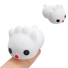 tanie Odstresowywacze-LT.Squishies Zabawki do ściskania Rabbit / Zwierzę Wzór zwierzęcy Zabawki biurkowe / Stres i niepokój Relief / Zabawki dekompresyjne 6pcs