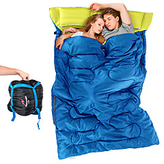 cheap Sleeping Bags & Camp Bedding-Naturehike Sleeping Bag Outdoor Double Size +5°C~+15°C Double Wide Bag Keep Warm Moistureproof Ultra Light (UL) Windproof Dust Proof for