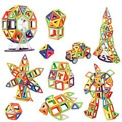 tanie Klocki magnetyczne-Blok magnetyczny Klocki 64pcs Zaokrąglanie Kwadrat Szkoła Zwalnia ADD, ADHD, niepokój, autyzm Interakcja rodziców i dzieci Classic &