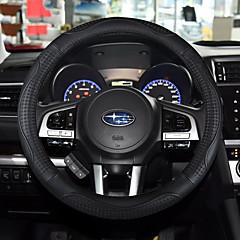 billige Rattovertrekk til bilen-Rattovertrekk til bilen ekte lær 38 cm Beige / Grå / kaffe For Universell General motors Alle år