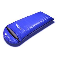 baratos -Beckles Saco de dormir Retangular Penas de Pato 2500g -39℃, 2000g -34℃, 1800g -29℃, 1500g -24℃, 1200g -19℃, 1000g -14℃, 800g -9℃, 600g -4℃