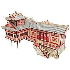 preiswerte -Holzpuzzle Logik & Puzzlespielsachen Architektur Mode Klassisch Mode Neues Design Profi Level Fokus Spielzeug Stress und Angst Relief