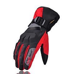 tanie Rękawiczki motocyklowe-outdoor riding nylonowe rękawiczki z mikrofibry z nylonu zimowe wodoodporne ciepłe rękawiczki