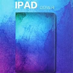 billige Nettbrettetuier&Skjermbeskyttere-Etui Til Apple iPad Air 2 iPad mini 4 Lommebok Støtsikker med stativ Heldekkende etui Tegneserie Hard PU Leather til iPad Pro 10.5 (2017)