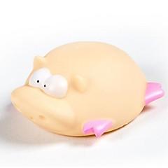 hesapli Banyo Oyuncakları-Banyo Oyuncakları Domuz Hayvan Sevimli 3D Karikatür Emülsiyon Genç Erkek Çocuklar için Bebek Hediye 1pcs