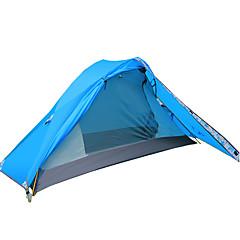 billige Telt og ly-3-4 personer Tilbehør for Telt Dobbelt camping Tent Ett Rom Brette Telt Vanntett Vindtett Pustende Telt gå litt i løssnø til Camping &