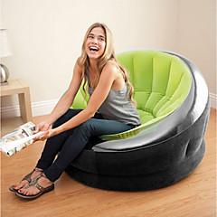 Χαμηλού Κόστους Υπνόσακοι και στρώματα κάμπινγκ-Φουσκωτός καναπές / Στρώμα αέρα / Φουσκωτή καρέκλα Εξωτερική Φορητό / Γρήγορα φουσκωτά Πολυεστέρας / PVC Έπιπλα Οικίας / Παραλία / Κατασκήνωση