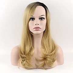 cheap Wigs & Hair Pieces-Synthetic Wig Natural Wave Synthetic Hair Natural Hairline Wig Women's Long Capless