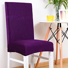 billige Hjemmetekstiler-Moderne 100% Polyester Mønstret Stoltrekk, Enkel Ensfarget Trykket slipcovere