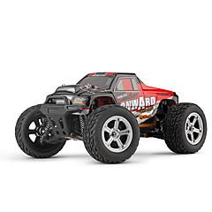 billige Fjernstyrte biler-Radiostyrt Bil L219 4 Kanal 2.4G Monster Truck Bigfoot 1:10 Børste Elektrisk 30 KM / H