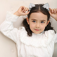 tanie Akcesoria dla dzieci-Akcesoria do włosów - Dla dziewczynek - Na każdy sezon Spinki - Gold Silver