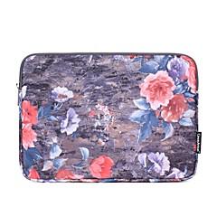 "billiga Laptop Bags-Textil Blomma / Mode Ärmar 13 ""bärbar dator"