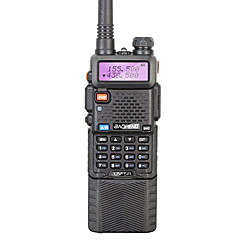 billige Walkie-talkies-BAOFENG UV-5R Walkie-talkie Håndholdt 128 3800mAh 5W Walkie Talkie Toveis radio