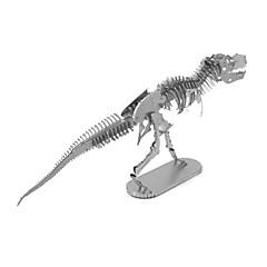 preiswerte -3D - Puzzle Metallpuzzle Dinosaurier Fossile Knochen Fokus Spielzeug Handgefertigt Metal 1pcs Ständer Tiere Spielzeug Kinder Erwachsene